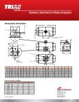 Stainless Steel Rack & Pinion Actuators - AT Controls - Page 4