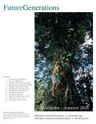 Newsletter 2010.pdf - Future Generations