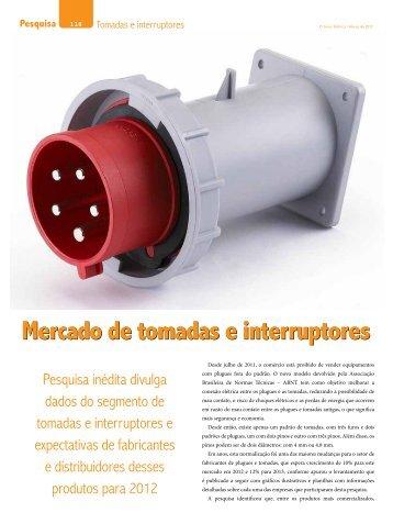 Mercado de tomadas e interruptores - Revista O Setor Elétrico
