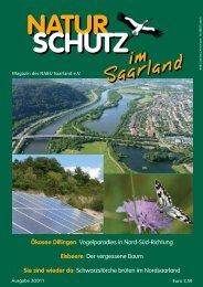 Saarland Ökosee Dillingen - beim NABU im Saarland