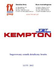 Kempton by FBT - FX-Music Group