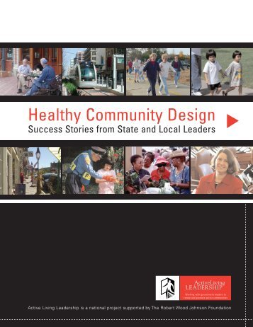 Healthy Community Design - Active Living Network