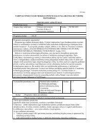 Pirmoji programa (pdf) - Teorinės fizikos ir astronomijos institutas