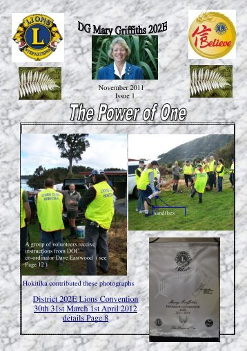 202E publication issue 1 November 2011 - Lions Clubs New Zealand