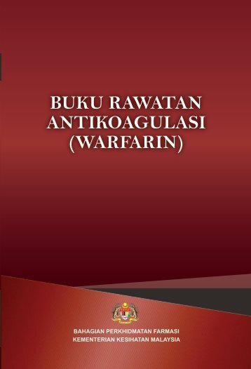 Buku Rawatan Antikoagulasi (Warfarin)