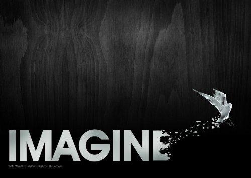 Kate Margolis / Graphic Designer / PDF Portfolio - RDD Design