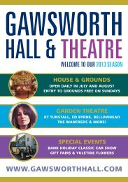 garden theatre - Gawsworth Hall