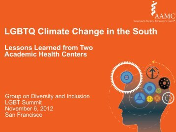LGBTQ Climate Change in the South - AAMC