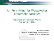 Air Permitting for Wastewater Treatment Facilities