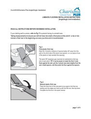 laminate flooring installation instructions - Lumber Liquidators