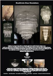 Brochure part 8 - Bespoke Italian Chandeliers