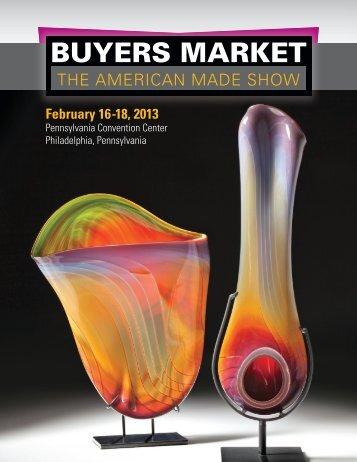 Exhibitor Prospectus & Application - Buyers Market of American Craft