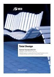 Total Design - IED Madrid