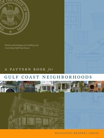 A Pattern Book for Gulf Coast Neighborhoods - Mississippi Renewal