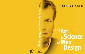 The Art & Science of Web Design