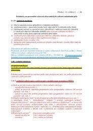 Příloha č. 1 k vyhlášce č. .../...Sb Požadavky na personální vybavení ...