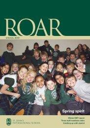 Spring 2010 - St. John's International School