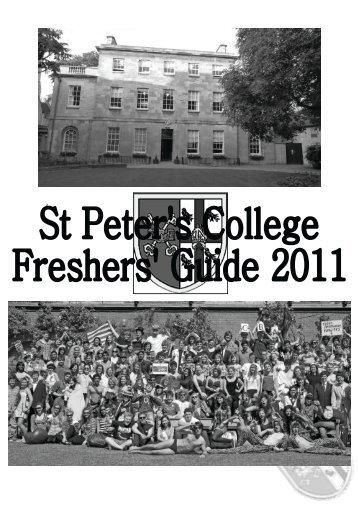 Hello - St Peter's College