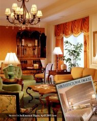 Hughes Design Associates' Interior Design of Sarasota Riz-Carlton ...