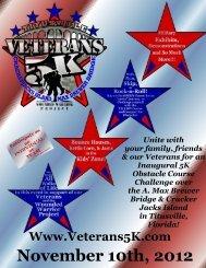 vet 5k registration.wps - Running Zone