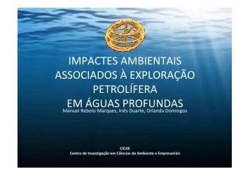 Impactes ambientais associados à exploração petrolífera em águas ...