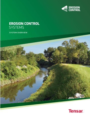 Erosion Control Systems Overview Brochure - North American Green