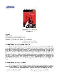 projeto de leitura o mistério do 5 estrelas marcos ... - Global Editora
