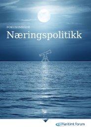 Næringspolitikk - Maritimt Forum