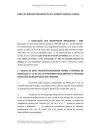 EXMO. SR. MINISTRO PRESIDENTE DO EG. SUPREMO ... - Sbdp
