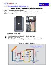 Úvodní informace: Co systémy SOLAR POWER ... - vstup na DIVEL