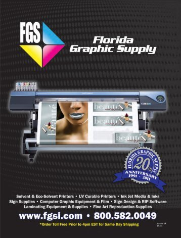 Download Catalog - Florida Graphic Supply