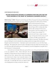 wilson associates designs a glamorous new enclave