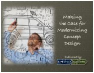 Making the Case for Modernizing Concept Design 2 - Econocap