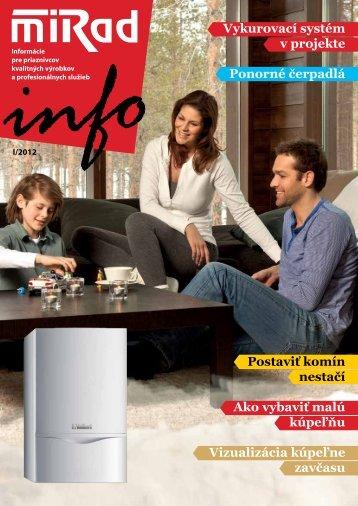 MIRAD Info, číslo 1/2012