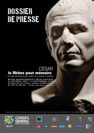 César, le Rhône pour mémoire - Musée départemental Arles antique