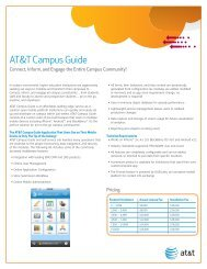 AT&T Campus Guide