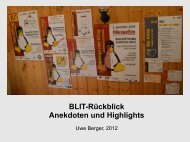 Präsentation (application/pdf - 8.3 MB) - Brandenburger Linux-Infotag