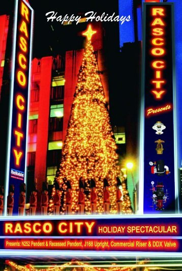 Holiday Post Card - Reliable Automatic Sprinkler Co.