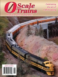 May/June 2010 - O Scale Trains Magazine Online