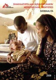 SOOMAALIYA - Médecins Sans Frontières
