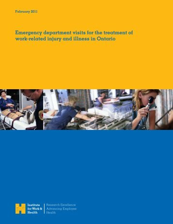 Emergency department visits for the treatment of work-related injury ...