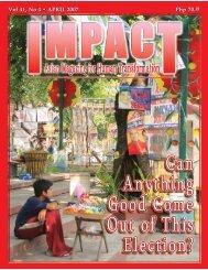 Vol 41, No 4 • APRIL 2007 Vol 41 - IMPACT Magazine Online!