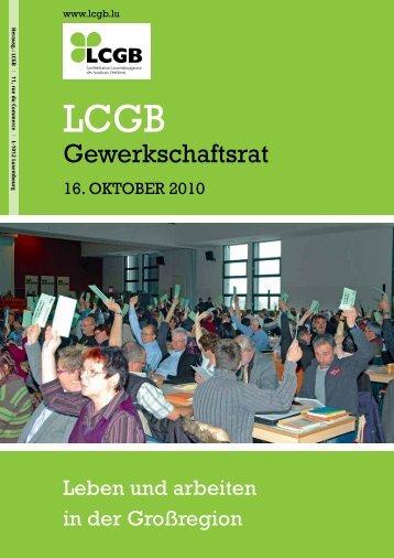 Broschüre: Leben und arbeiten in der grossregion