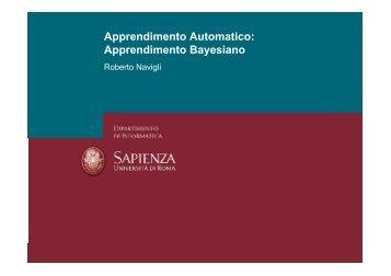 Apprendimento Automatico: Apprendimento Bayesiano - TWiki