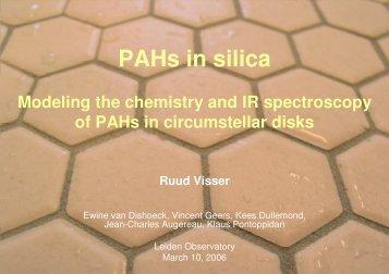 PAHs in silica