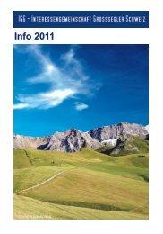 Fliegen 2011 Segler - Schlepp - Saison - Schluss - IGG Schweiz