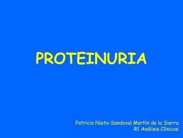 PROTEINURIA - hgucr