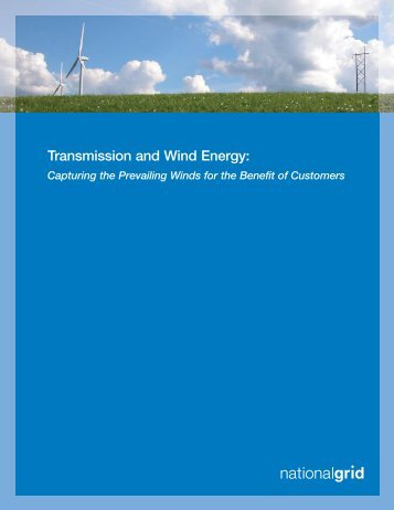 Transmission and Wind Energy - National Grid