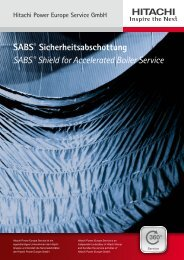 SABS - Hitachi Power Europe Service