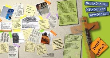 Nach-Denken Vor-Denken - Pastorale Informationen
